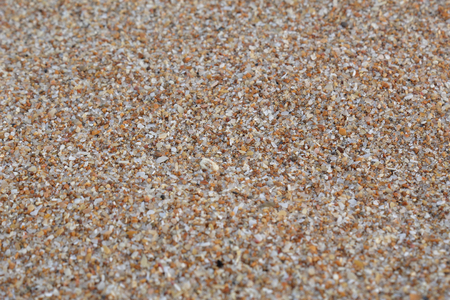 A close view of dry sand coming from Sahara, found in Las Teresitas beach in Tenerife