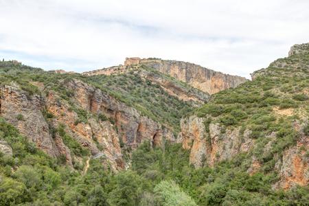 in Alquezar, Spain