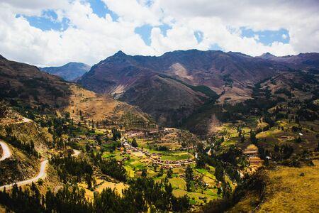 Incan Sacred Valley in Peru 写真素材