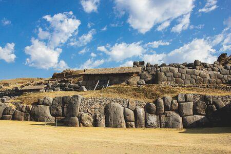 Ruins of Sacsayhuaman in Cusco, Peru