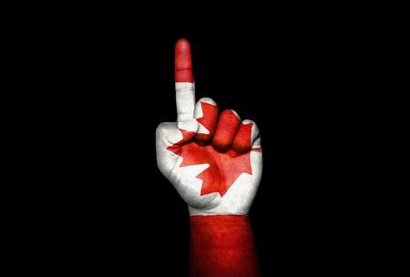 Mano Canada                               Stock Photo