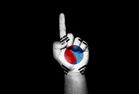 icono: Mano Corea del Sur