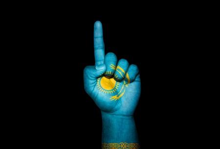 icono: Mano Kazakhstan
