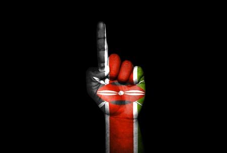 Mano Kenya                              Stock Photo