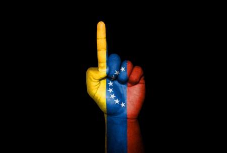 icono: Mano Venezuela                                Stock Photo