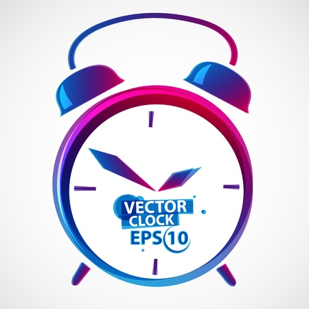 Classic alarm clock vector illustration Stock Illustration - 13484957