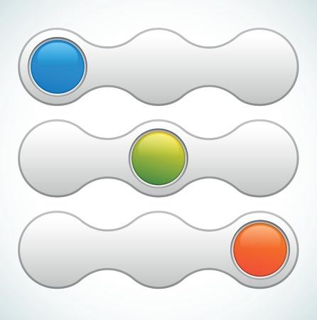 switcher: Vector web slider switcher