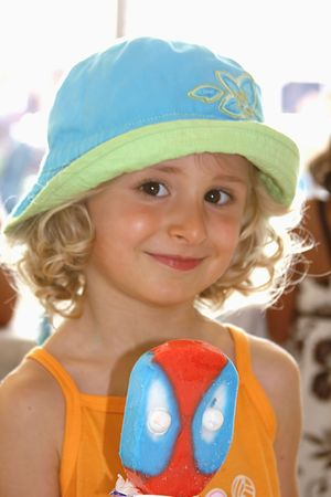 Girl with icecream