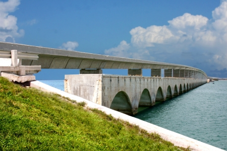 Seven miles Key West Bridge Stock Photo - 5399599