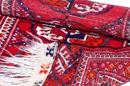 coverlet: Hand made and veggetable dye tekin rug from Turkmenistan