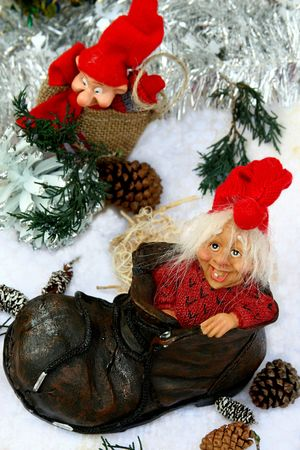 Norwegian christmas trolls Stock Photo - 6103899