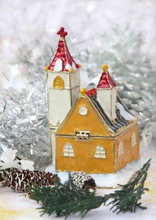 A winter scene  Stock Photo