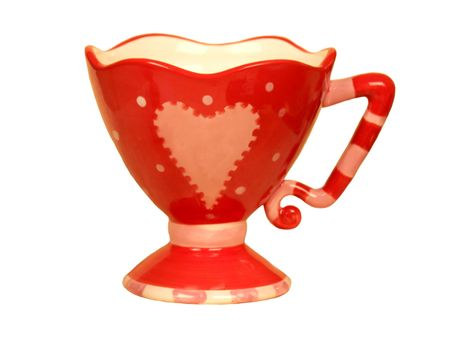 Valentines - romantic heart shaped teacup Stock Photo - 6271509