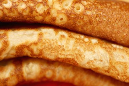 Close up of pancakes's stack Stock Photo - 6296347