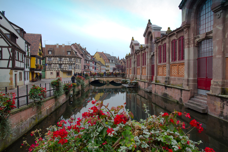 Canal In The Little Venice, Colmar France Stock Photo, Picture And ...