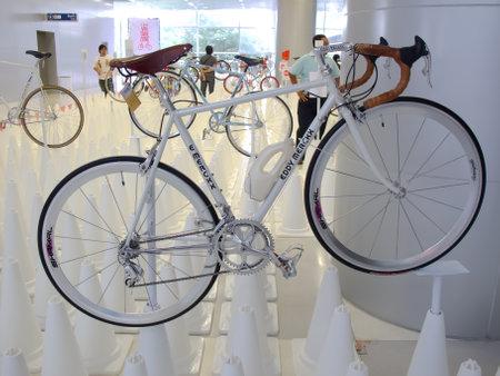Vintage bicycle Eddy Merckx at A Day Bike Fest Editorial