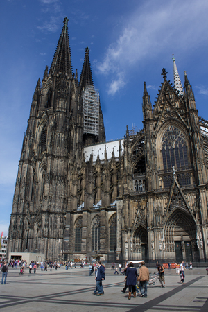The historic building Cologne cathedral, Germany