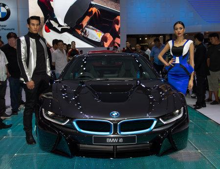 autoshow: Bangkok, Thailand - March 28, 2014: BMW new model presented in Bangkok Motor Show 2014 Editorial