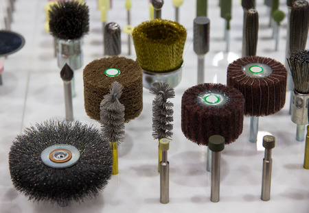 Selection of small grinding heads
