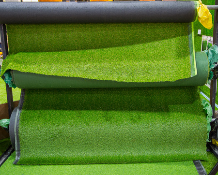 Selection of artificial grass carpet