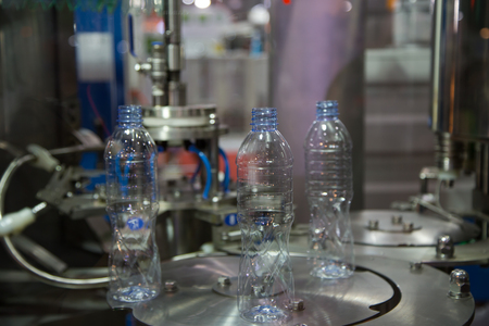 Testing production of mineral water bottle packing machine