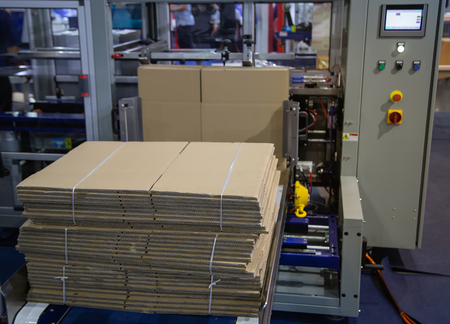 Fully Automatic Carton / Box Erector Machine