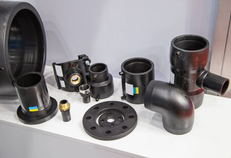 HDPE pipe fitting parts for water work, plumbing, sanitary, drainage and electricity