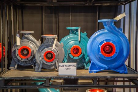 Selection size of end suction centrifugal pump Imagens