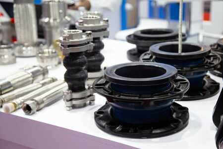Bellow flexible joint for expansion in piping system