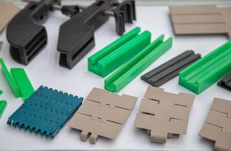 Plastic belt conveyor for food production line