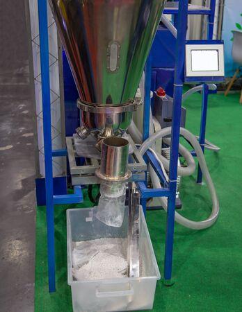 Plastic hopper dryer. For industrial plastic injection machine