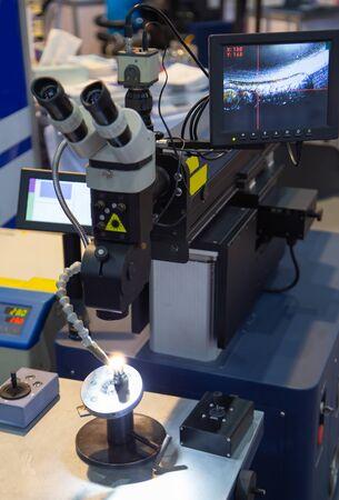 The hi-precision welding process by laser welding machine