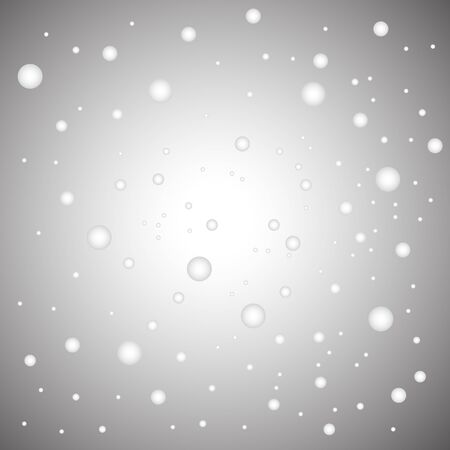 Vector illustration of falling snow background in winter