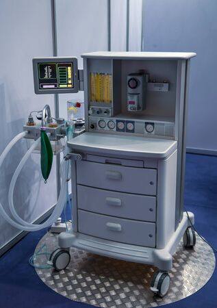 Anaesthesia machine for monitoring patient in operation room