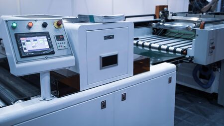 Modern printing machine for printing industry