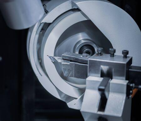 Carbide cutting tool sharpening on CNC machine