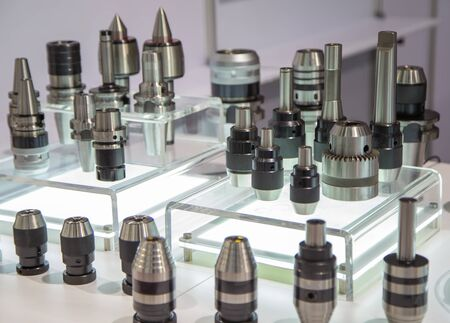 Group of cutting tool holder for CNC machine Stockfoto