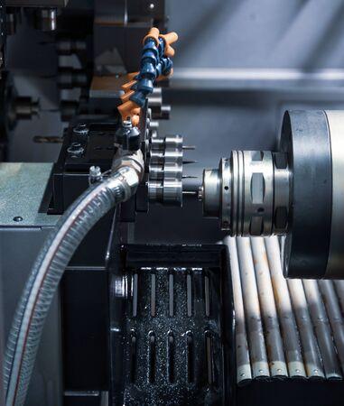 Multi tasking turning center machine, Industrial machinery Stockfoto