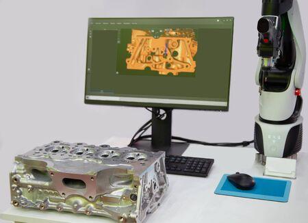 High accuracy portable CMM 3D measurement arm