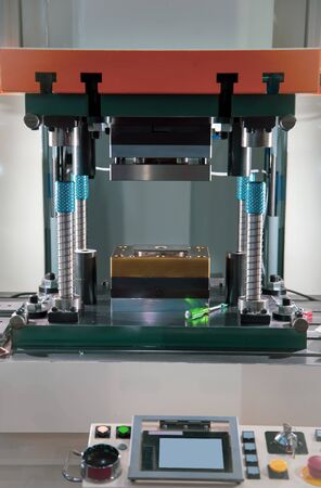 Hydraulic press stamping machine for metal sheet, Industrial manufacturing