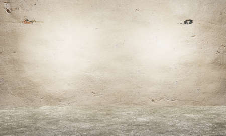 Concrete wall and floor. Empty interior design. Old grungy texture background Stock fotó