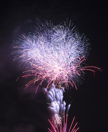 a nocturne: Fascinating fireworks