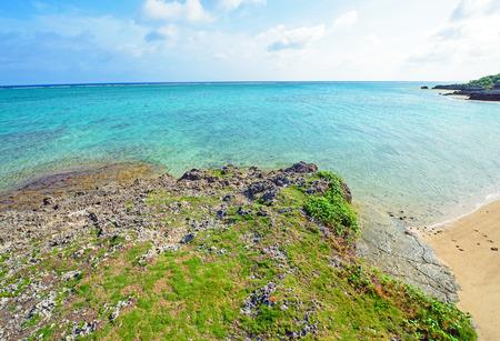 regression: Beautiful sea and coast, Okinawa, Japan
