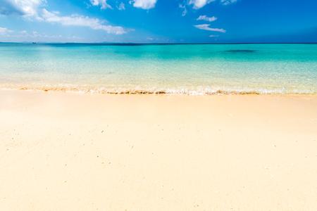 Sea, beach, seascape. Okinawa, Japan, and Asia.