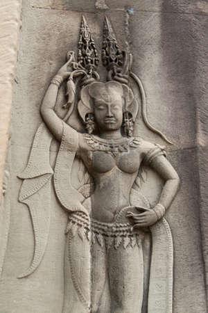 apsara: Apsara angkor wat