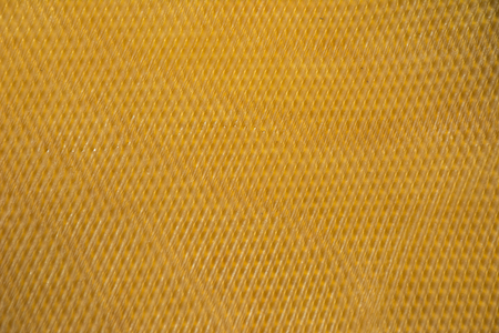 rubber sheet: Raw rubber sheet , rubber sheet For use in industry Stock Photo
