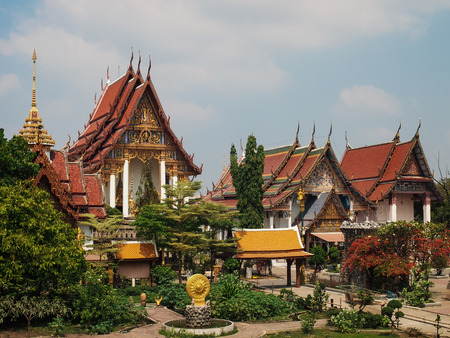 land scape: Land scape of Kingkew tample Thailand