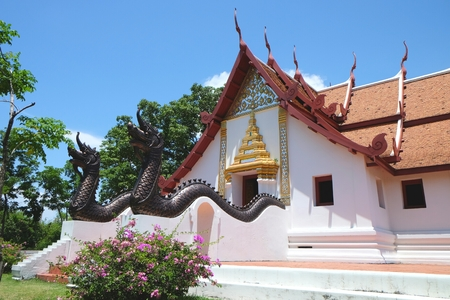 cultural history: thai architecture most buildings are built for religious ceremonies.