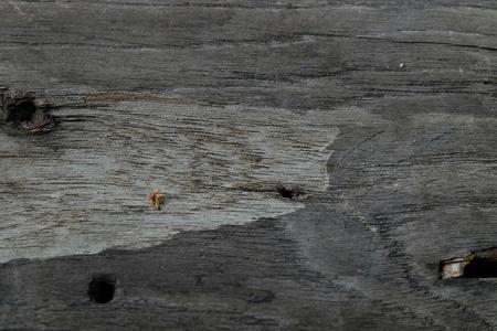 on wood floor: Natural wood floor pattern. Stock Photo