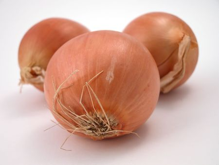 close up of brown onions Stock Photo - 740057